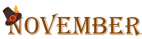 November Newsletter Banner
