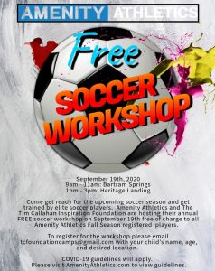 Soccer Workshop Flyer